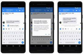 Messenger ajoute les traductions espagnoles et de nouveaux effets en AR pour les entreprises