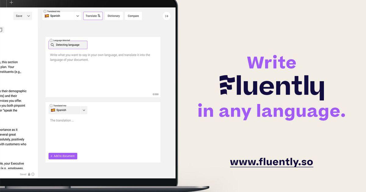 Cet outil permet d'écrire couramment dans n'importe quelle langue