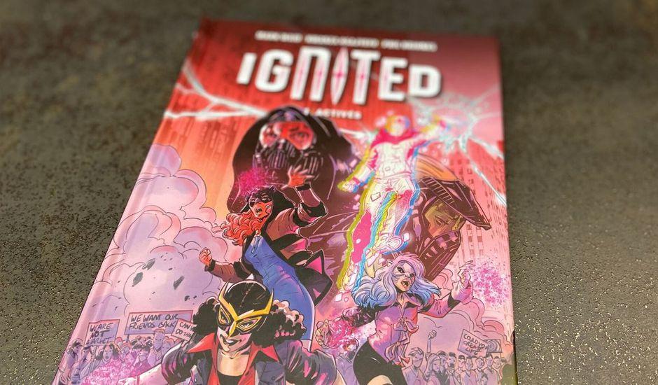 ignited avis comics