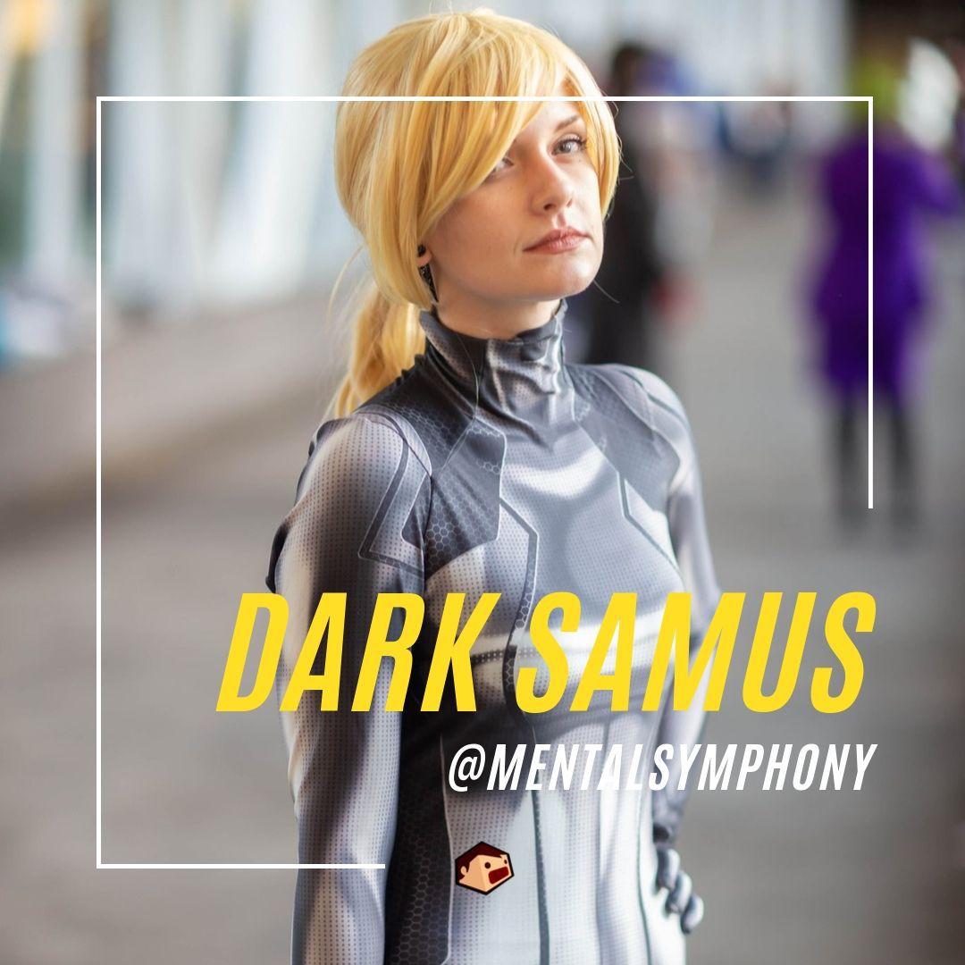 cosplay dark samus metroid