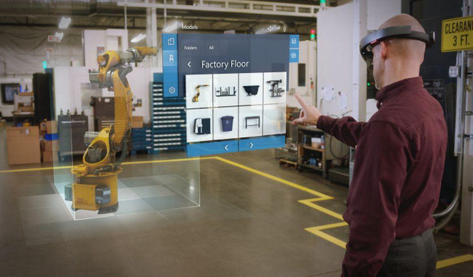 Microsoft met HoloLens au service des nouvelles applications Dynamics 365