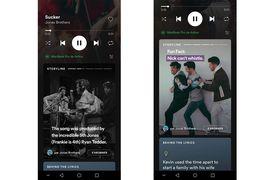 Storyline, les stories sur Spotify