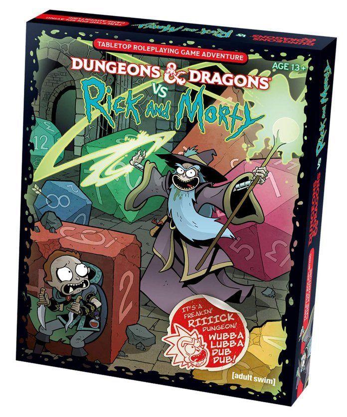 Donjons & Dragons vs. Rick & Morty