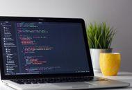 du code sur un ordinateur portable