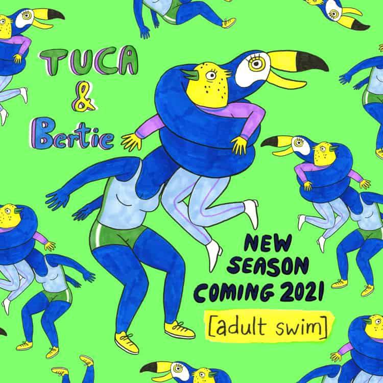 Annonce d'une saison 2 pour Tuca & Bertie