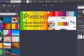 Pixelixe création visuel outil