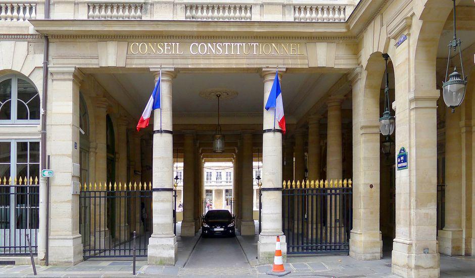 Conseil constitutionnel 2 rue de Montpensier.
