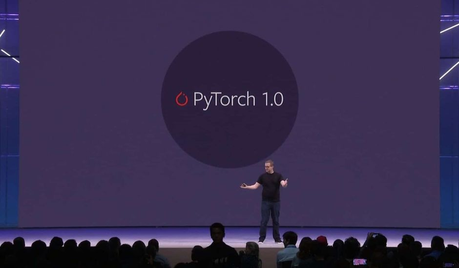 Présentation de PyTorch lors du F8 2018
