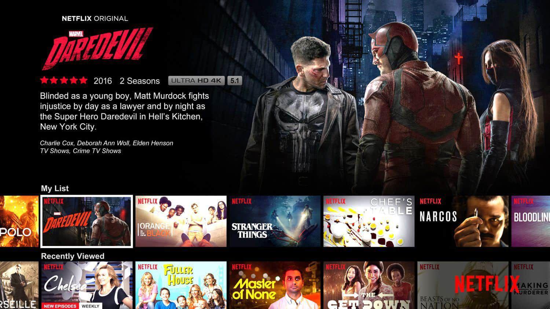 Netflix vidéos semaine