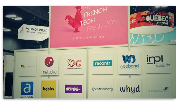 Le pavillon French Tech