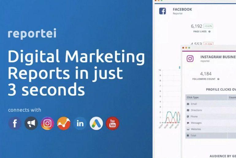reporting réseaux sociaux google
