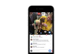 facebook live promotion avec des médias et stars