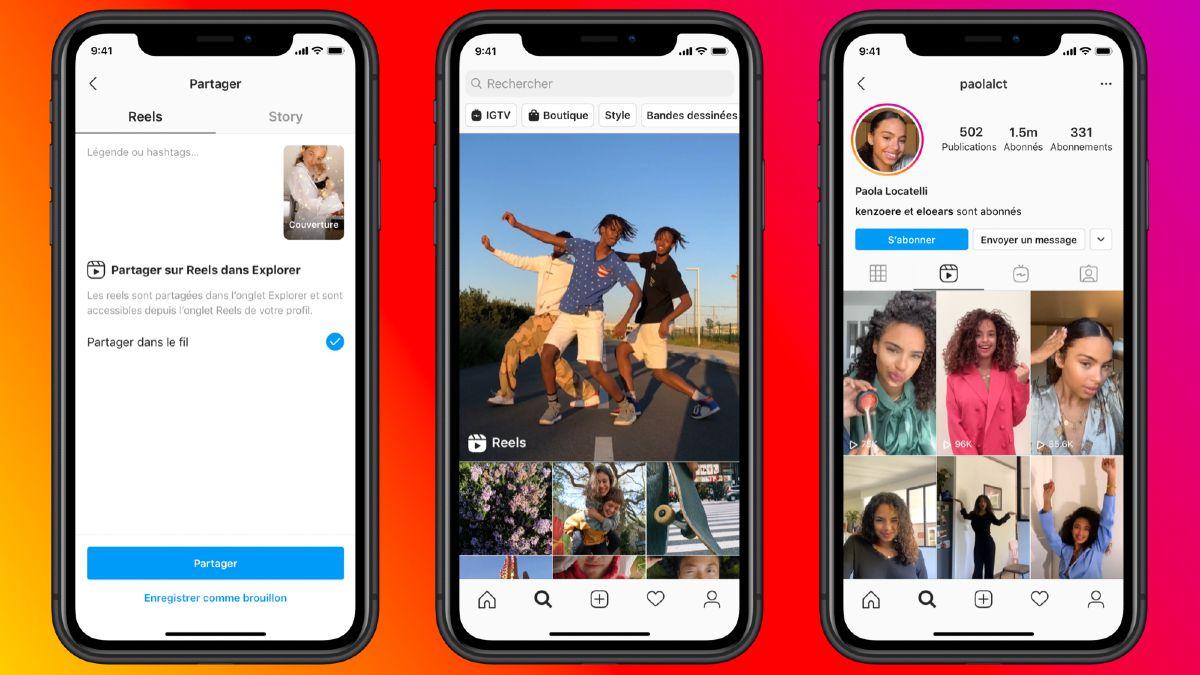 Le fil d'actualité de Facebook sera agrémenté des vidéos courtes d'instagram.