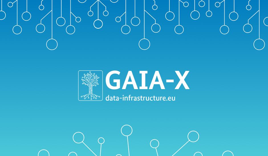 Illustration du projet de cloud européen.