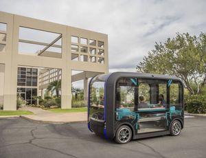 Une navette autonome Olli 2.0