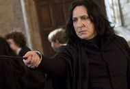 Alan Rickman incarne Severus Rogue dans la saga Harry Potter