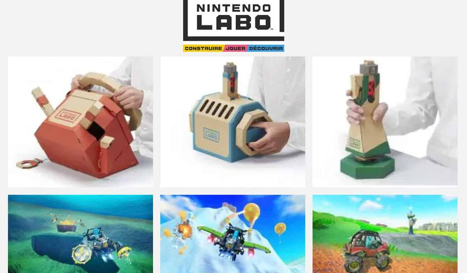 kit véhicule Nintendo Labo