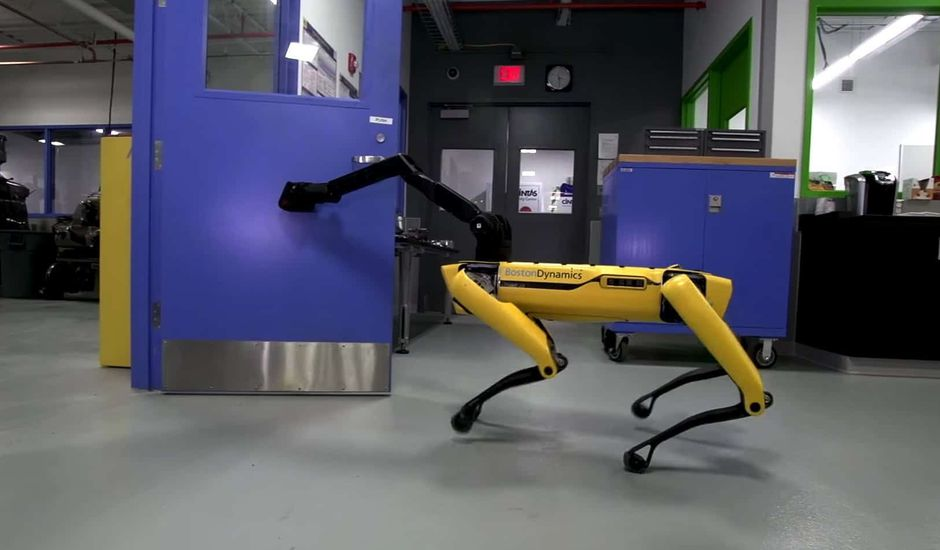 Le robot SpotMini de Boston Dynamics
