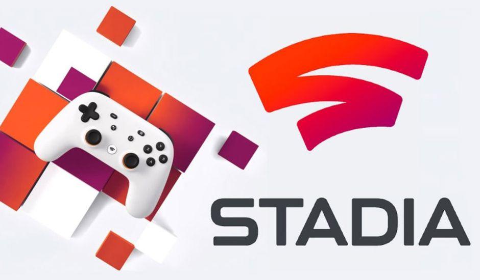 Stadia : Image promotionnelle du service de cloud gaming de Google.