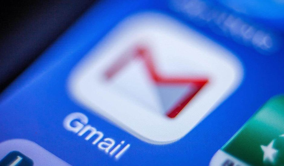 Application de messagerie Gmail de Google
