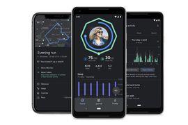 aperçu de l'application Google Fit
