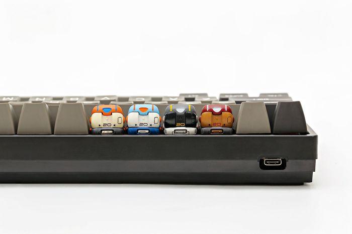 Touches de clavier en forme de bornes d'arcade par Jelly Key