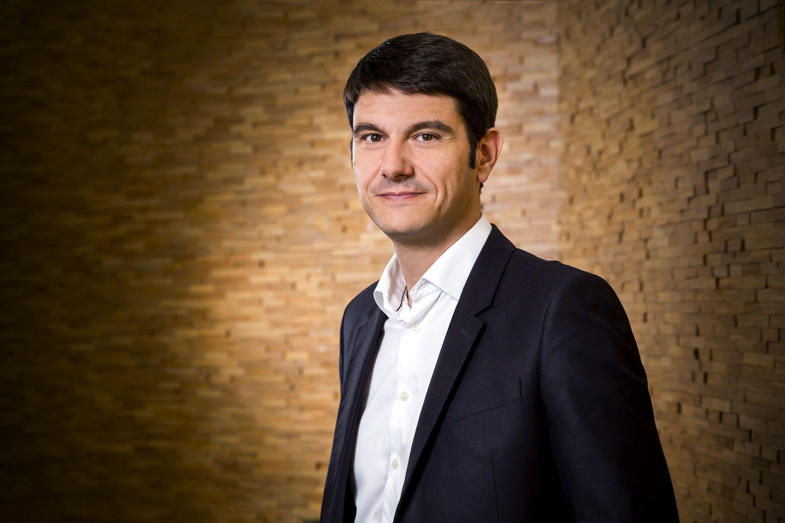 Sur la photo : Fabien Versavau, PDG de Rakuten France