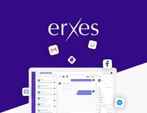 couverture de présentation de l'outil Erxes