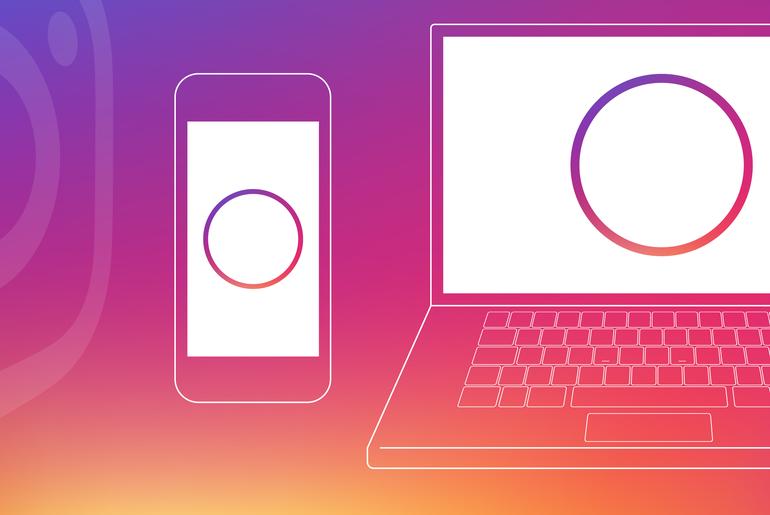 Instagram stories mobile