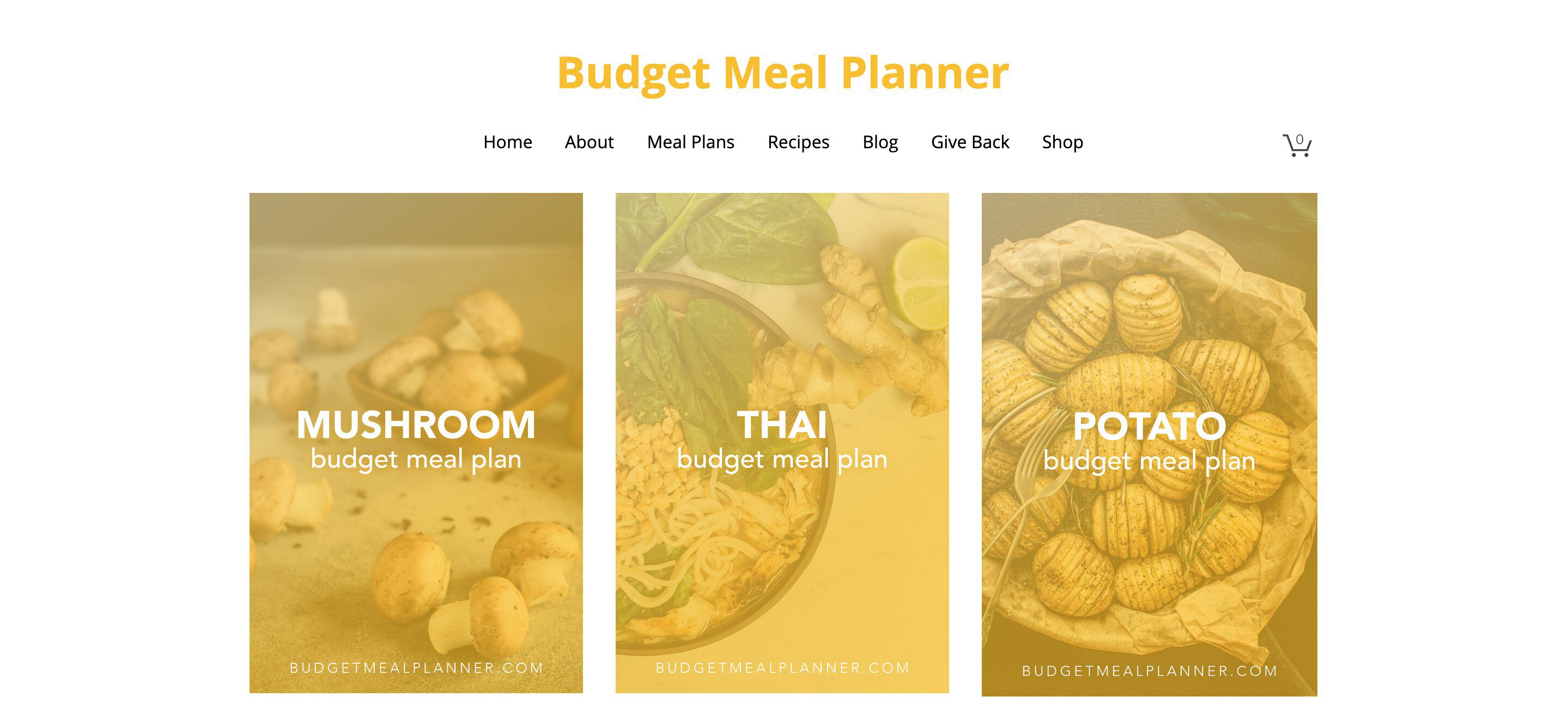 Budget Meal Planner
