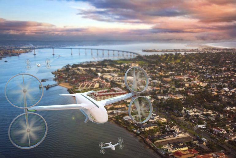 Les drones qui pourraient être utilisés par Uber Eats