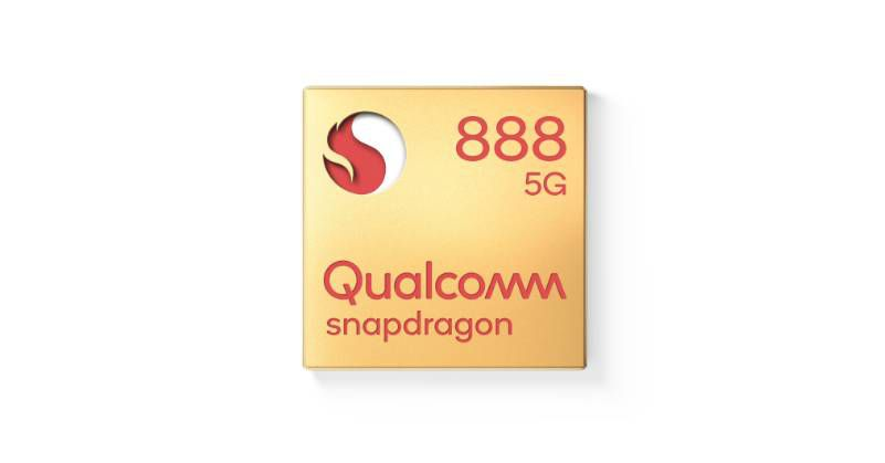 La puce Snapdragon 888 de Qualcomm.