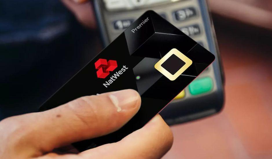 Carte de paiement biométrique Natwest