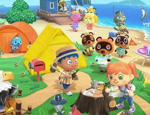 Jaquette du jeu Animal Crossing : New Horizons