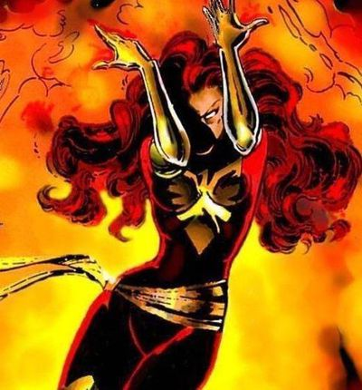 Comics Jean Grey Dark Phœnix