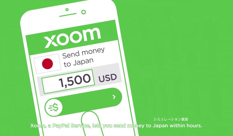 Xoom transfert d'argent Europe