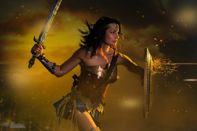Cosplay Wonder Woman