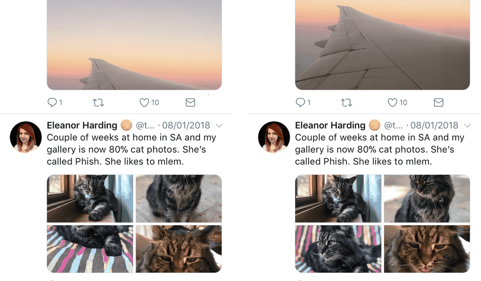 Twitter découpe photo machine learning