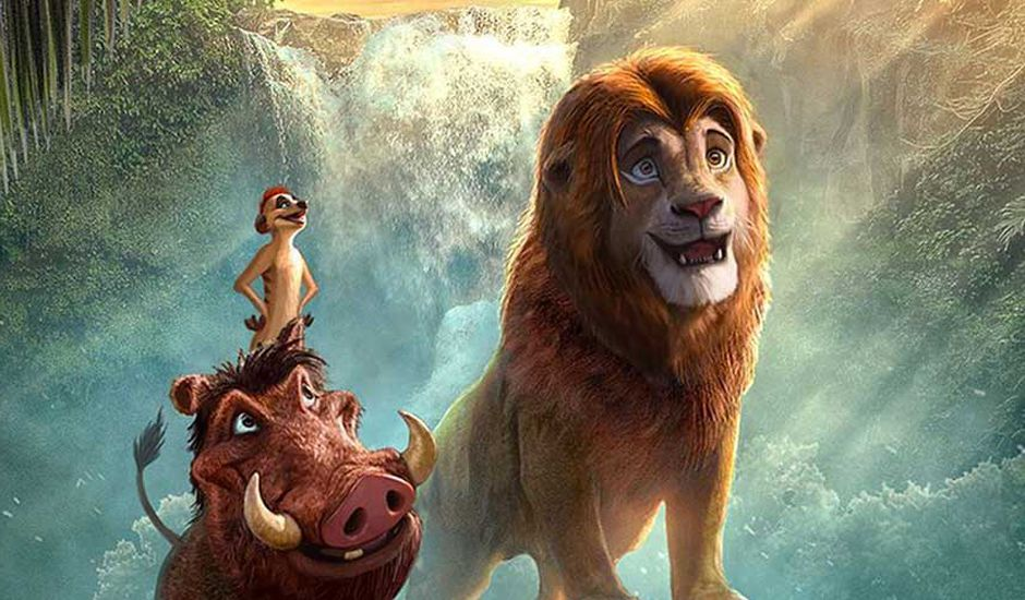 le roi lion film versus dessin anime character design