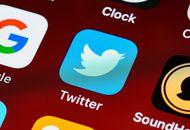 Le logo de l'application Twitter sur iOS
