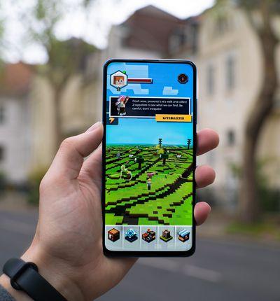 aperçu d'un jeu sur un smartphone.