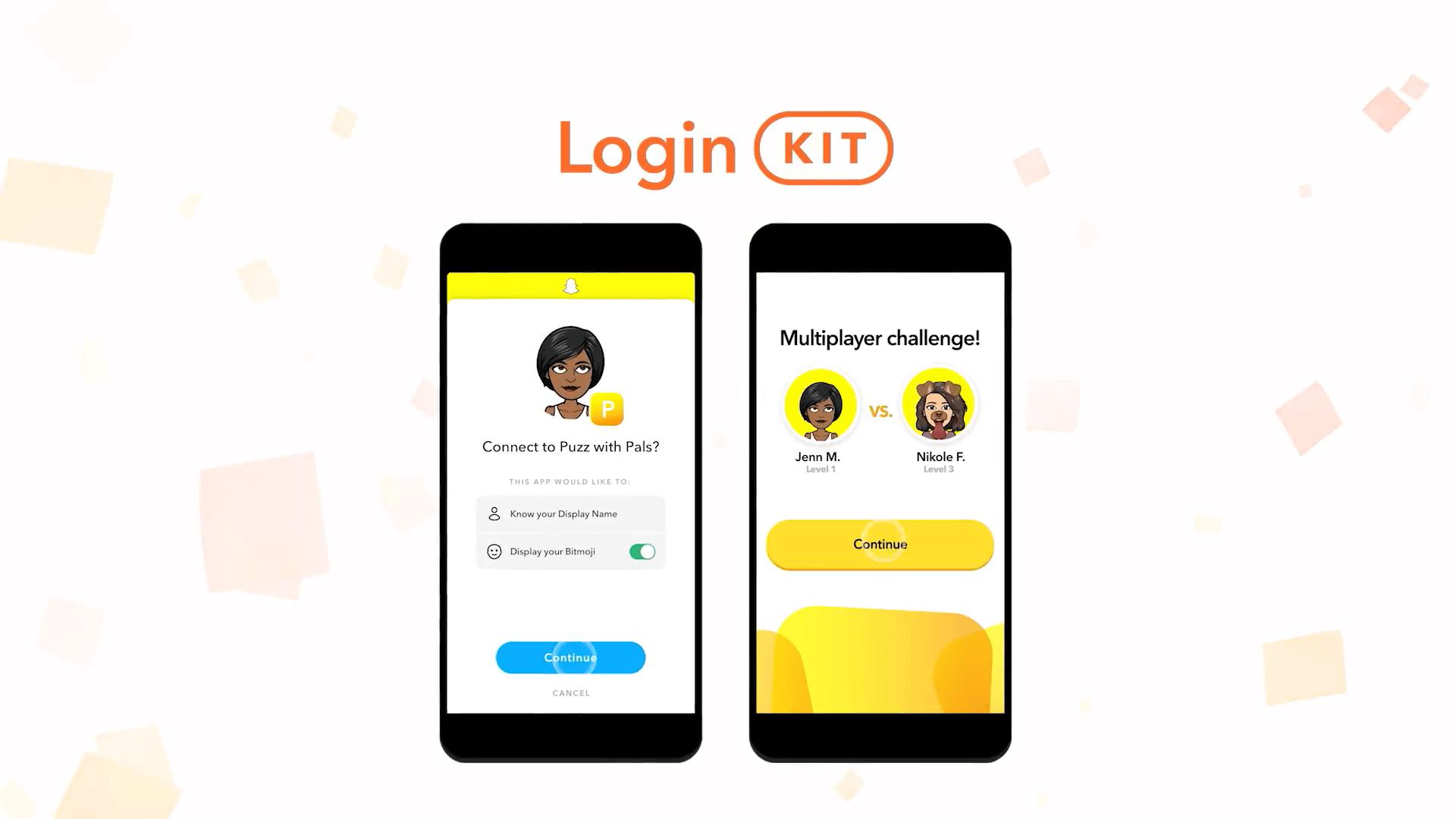 Login Kit Snapchat