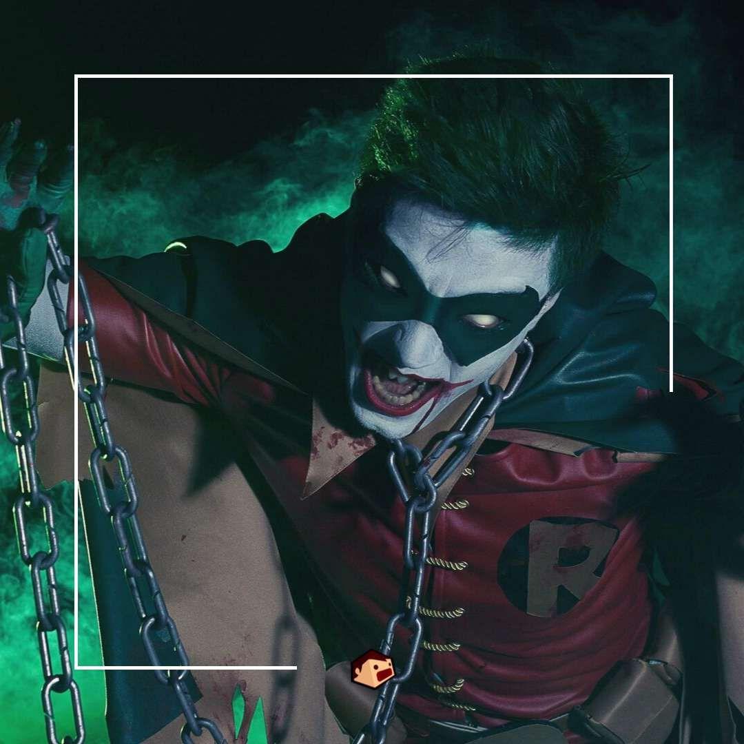 cosplay joker robin maléfique