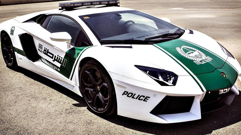 voiture police Dubaï