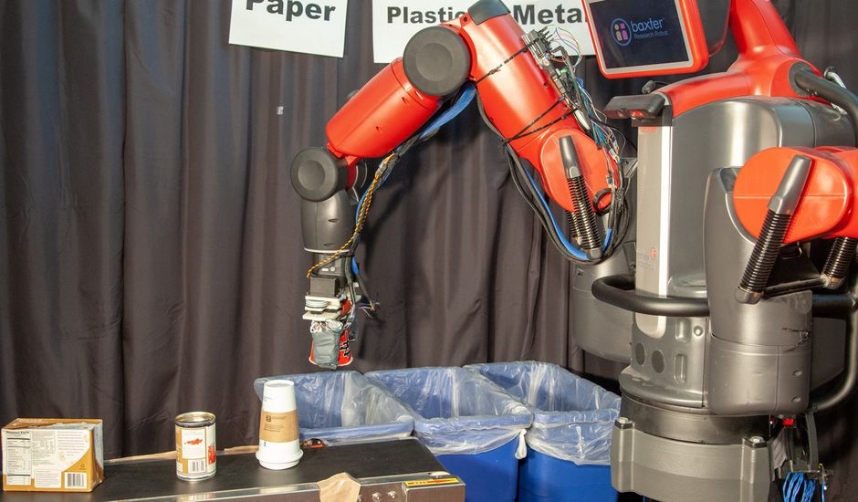 RoCycle, un nouveau robot capable de trier nos déchets.