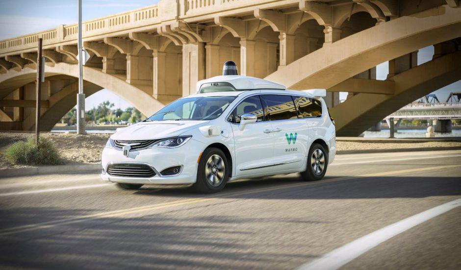 Un véhicule autonome de Waymo