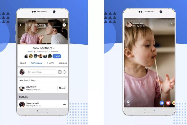 Facebook lance les stories de groupe à l'échelle mondiale