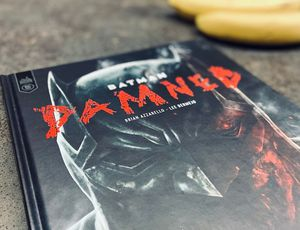 batman damned comics critique DC
