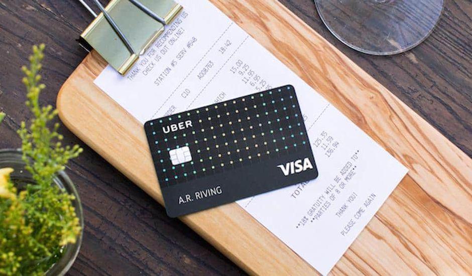 uber visa carte de crédit