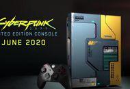 la console Xbox One X collector aux couleurs du jeu vidéo Cyberpunk 2077 par Microsoft